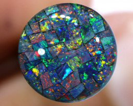 3.80 CTS - A GRADE  QUALITY MOSAIC TRIPLET  LO-5826