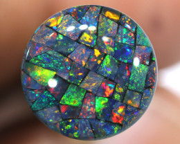 3.80 CTS - A GRADE  QUALITY MOSAIC TRIPLET  LO-5827