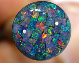 3.80 CTS - A GRADE  QUALITY MOSAIC TRIPLET  LO-5828