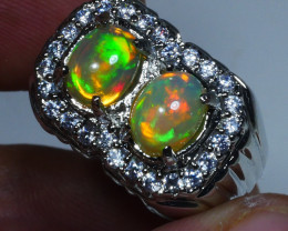 1.65CRT BRILLIANT BRIGHT PAIR WELO OPAL
