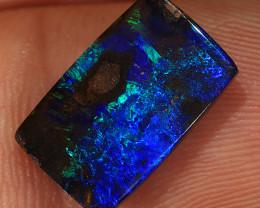 4.4ct 13.5x8.5mm Queensland Boulder Opal  [LOB-3066]