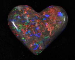nnHeart Opal- High Polish-Heart ready to set [25348]