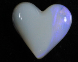nnHeart Opal- High Polish-Heart ready to set [25367]