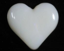 nnHeart Opal- High Polish-Heart ready to set [25370]
