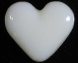 nnHeart Opal- High Polish-Heart ready to set [25371]