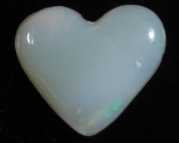 nnHeart Opal- High Polish-Heart ready to set [25373]