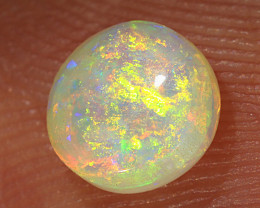 0.5ct 5.5mm Solid Lightning Ridge Crystal Opal [LO-2010]
