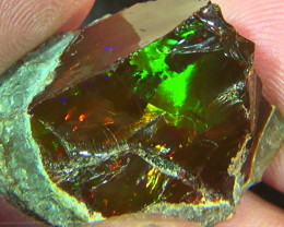 49.15 cts Ethiopian Mezezo PUZZLE rough dark opal N3 4/5