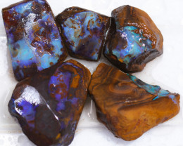 370 CTS BLUE BOULDER OPAL ROUGH - PS112