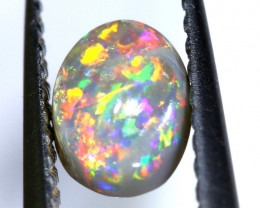 N5-  0.37 CTS - DARK  OPAL POLISHED STONE L. RIDGE  TBO-A298