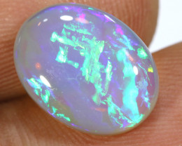 4.45CTS  CHINESE WRITING QUALITY  CRYSTAL OPAL LIGHTNING RIDGE INV-1449