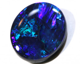 N1 -  2.20CTS QUALITY BLACK OPAL POLISHED STONE  INV-1451