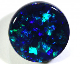 N1 -  2.50CTS QUALITY BLACK OPAL POLISHED STONE  INV-1454
