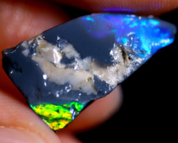 6.45cts Australian Lightning Ridge Opal Rough / WR706