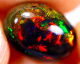 4.25cts Ethiopian Welo Smoked Black Opal / BF569