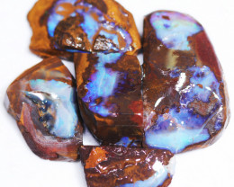 230 CTS BLUE BOULDER OPAL ROUGH - PS115