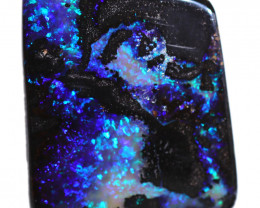 $5 PER CARAT  36.78 CTS BOULDER OPAL-WELL POLISHED [BMA9252]