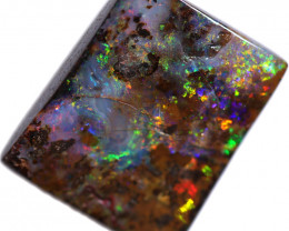 $15 PER CARAT 22.89 CTS BOULDER OPAL-WELL POLISHED [BMA9253]
