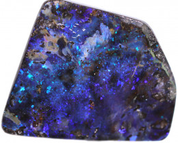 $6 PER CARAT 121.76 CTS BOULDER OPAL-WELL POLISHED [BMA9262]