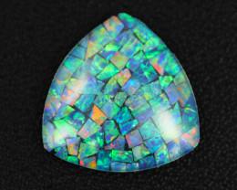 12.7 Cts Australian Opal Triplet Tri shape   Br 2478