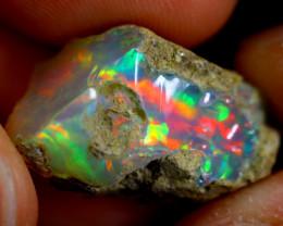 9cts Ethiopian Welo Rough Opal / WR766