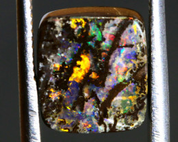 3.90 CTS BOULDER OPAL WOOD REPLACEMENT NC-7126