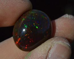 20.73 Carat Amazing Ethiopian Semi Black Opal