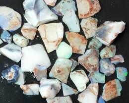 195.0 Cts Ridge Crystal opal Beginners Rough/Rubs RUS-551