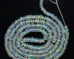 15.90 Ct Natural Ethiopian Welo Opal Beads Play Of Color  OB873