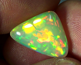 8.40 cts Ethiopian Welo MULTI HONEYCOMB brilliant opal N6 5/5