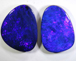 7.20 -CTS  OPAL   DOUBLET  PAIR LO-5830