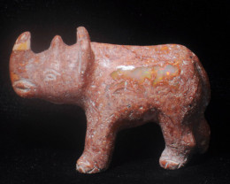 200ct. Mexican Cantera Fire Opal Figurine