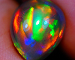 7.60 ct Collector Grade Natural Dark Ethiopian Opal - GAA68
