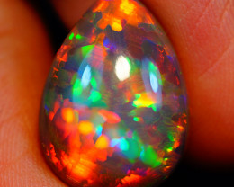 7.77 CT Rare Quality Natural Welo Dark Ethiopian Opal - GAA69