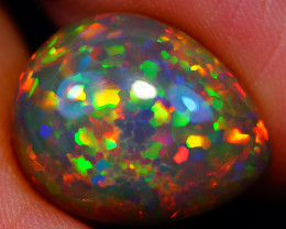 8.00 ct Collector Grade Natural Dark Ethiopian Opal - GAA70