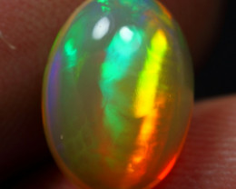 2.50cts Aurora Pattern Natural Ethiopian Welo Opal