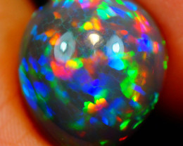 8.97 ct Purple Hue !! Natural Welo Dark Ethiopian Opal - GAA73