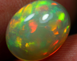 2.20cts Flash Neon Fire Natural Ethiopian Welo Opal