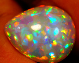 10.10 ct 5/5 Brightness  Rare Natural Welo Ethiopian Opal - GAA74