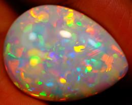 10.66 ct 5/5 Brightness  Natural Welo Ethiopian Opal - GAA75