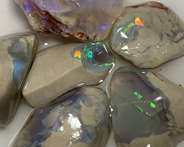 PARCEL OF ROUGH NOBBY ***CUTTERS ROUGH OPALS#2728