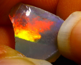 4.63Ct Multi Color Play Ethiopian Welo Opal Rough G1322