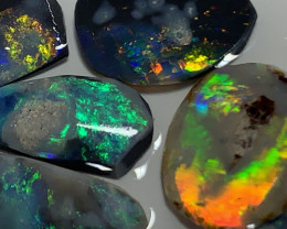 GORGEOUS BLACK OPAL RUBS (unfinished) 15 Cts # 2739