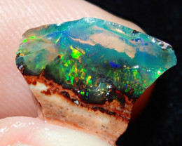 4.28ct -#A4 - Gamble Rough Mexican Opal