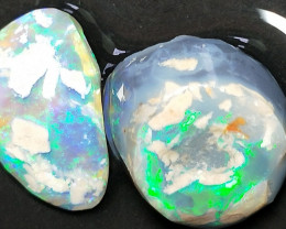 14.5Cts  No Reserve Lightning Ridge Opal Rough Rubs For Carving B&H-592