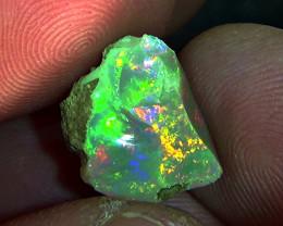 6.50 cts Ethiopian Welo CIRRUS rough brilliant opal N6 5/5