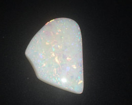 73 cts  brazilian white opal cut