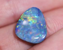 Australian made Fire Shell   Opal Doublet OPJ 2661