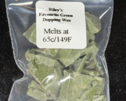 Green Dopping Wax- Riley's Favorite  65C/149F [25441]