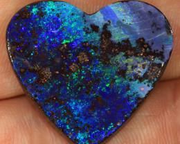 30ct 25x23mm Queensland Boulder Opal  [LOB-3082]